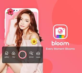 BloomCamera, Selfie, Beauty Filter, Funny Sticker