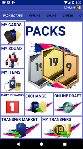 Pack Opener for FUT 19  captures d'u00e9cran 2
