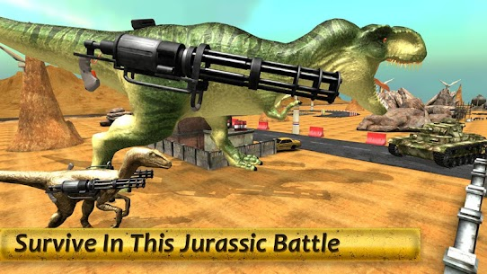 Dinosaur Battle Survival MOD (Unlimited Money) 8