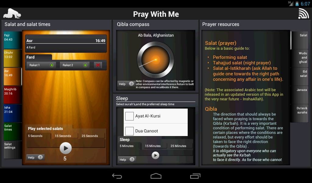 Pray With Me Islamic Salat App- screenshot