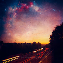 Photo: #fantastic   #surreal   #stars   #longexposure   #sunrise  dreamy highway  http://wuestenhagen-imagery.photoshelter.com/gallery-image/altered-reality/G0000qGM_zsX8sBw/I0000mMdh5s_xDl4