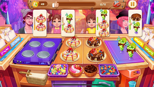 Chef Papa - Restaurant Story apktreat screenshots 1