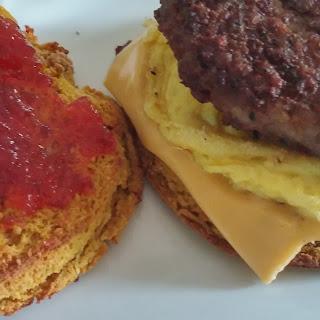 Maple Keto Breakfast Sandwich
