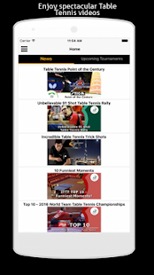 Table Tennis Match Edge Videos- screenshot thumbnail