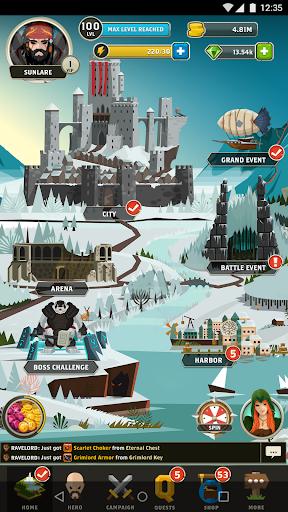 Questland: Turn Based RPG android2mod screenshots 8