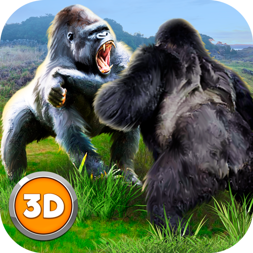 Angry Gorilla Fighting: Animal Wrestling Game 3D