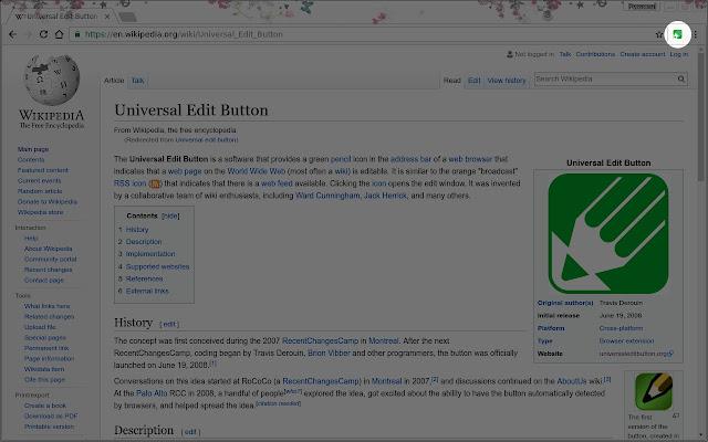 Universal Edit Button
