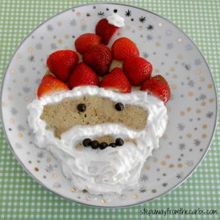 Low Carb Santa Pancake