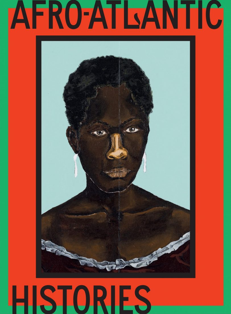 Afro-Atlantic Histories (2021) is one of our favorite art books for this summer. Book cover of Afro-Atlantic Histories by Adriano Pedrosa and Tomás Toledo et al., Delmonico Books, 2021.