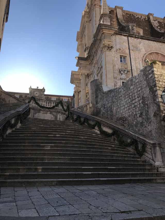 Jesuit Staircase Dubrovnik