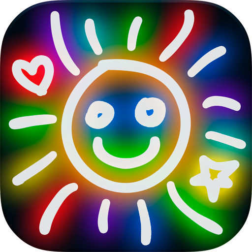 Kids Doodle Icon