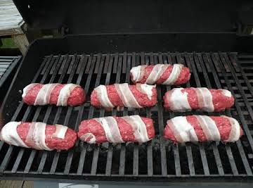 Bacon Burger Dogs
