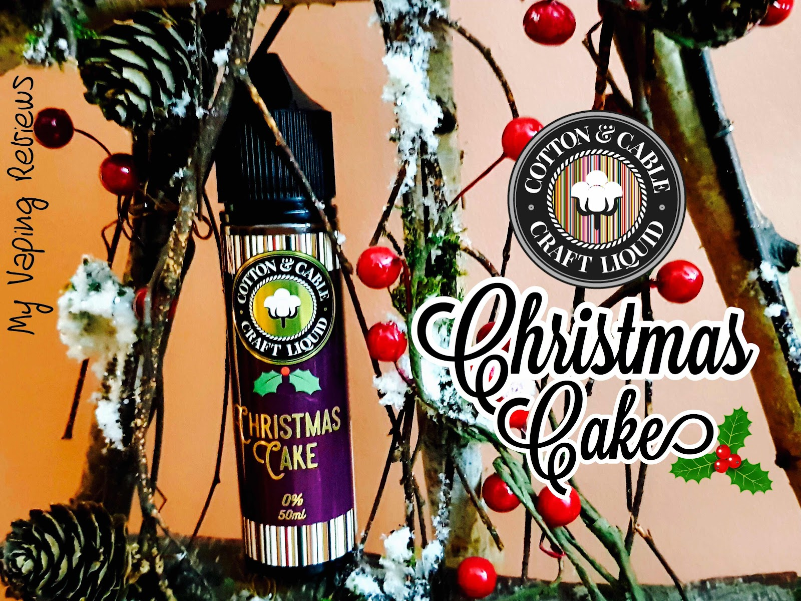cotton and Cable Christmas Cake Ejuice Review