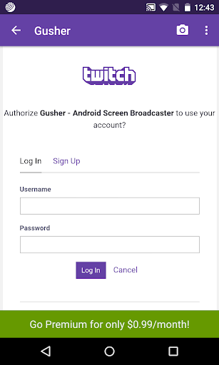 Gusher screen broadcaster apk download | apkpure. Co.