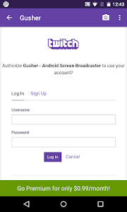 Gusher - Screen Broadcaster v1.0.5
