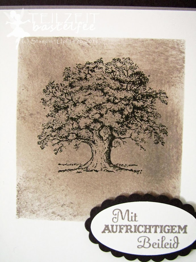 Stampin' Up! - In{k}spire_me #303, Trost in der Trauer, condolence card, Trauerkarte, Beileidskarte, Lovely as a Tree