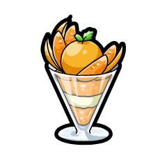 オレンジパフェ(中)