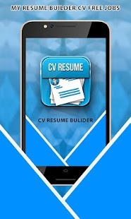 professional resume builder cv maker free 2017 screenshot thumbnail