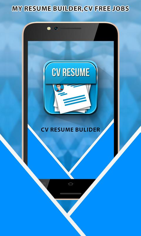professional resume builder - cv maker free 2017 - android apps on ... - My Resume Builder Free