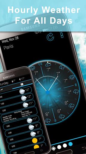Weather Rise Clock 30+ Widgets 4.2.2 screenshots 5