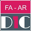 Farsi - Arabic Dictionary & translator (Dic1) icon
