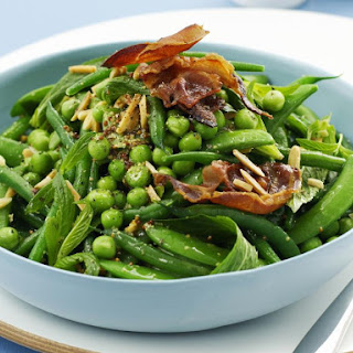 Minty Green Bean and Pea Salad