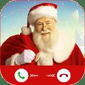 Santa Claus Call and Chat Simulation - Santa call icon