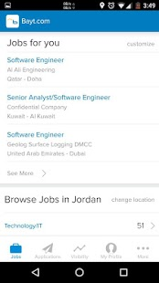 Bayt.com Job Search- screenshot thumbnail