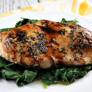 Balsamic Glazed Chicken.