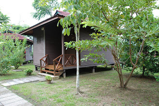"""Photo: Our """"home"""" in Sabah"""