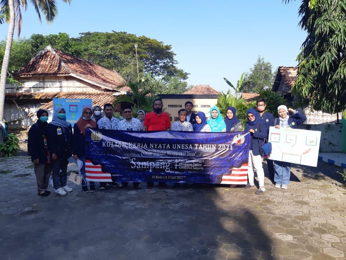 KKN Unesa Di Masa Pandemi  Rencana Wujudkan Desa Wisata Di Sampang Madura