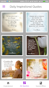 Daily Motivational Quotes Wallpapers App - náhled