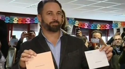 Santiago Abascal, líder de Vox.