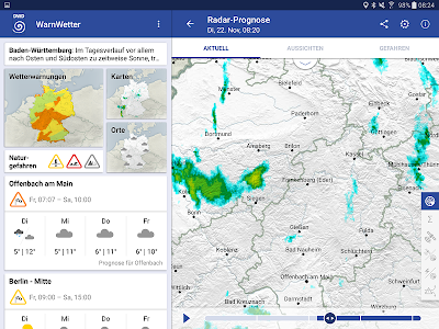WarnWetter screenshot 6