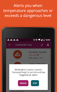 MedAngel ONE - Keep medications (insulin) safely- screenshot thumbnail