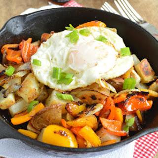 Easy Potato Breakfast Skillet.