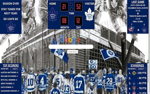 Toronto Maple Leafs Chrome Extension