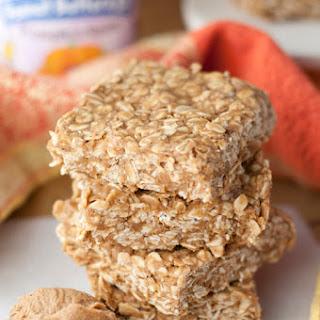 4 Ingredient Pumpkin Spice Peanut Butter Oat Bars + GIVEAWAY!