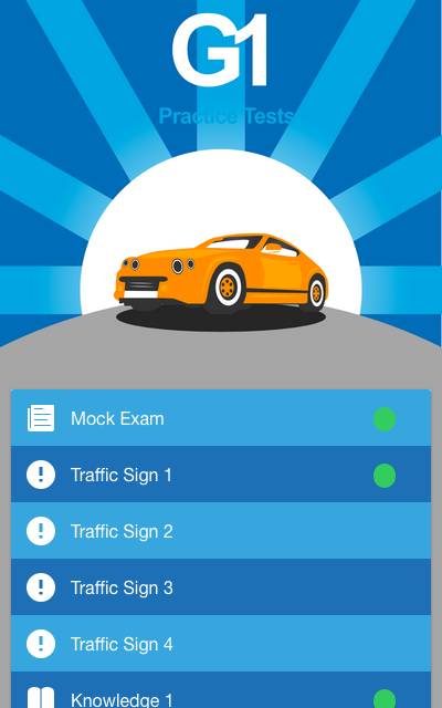 Ontario G1 Driving Test Free- screenshot