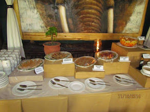 Photo: Desert table