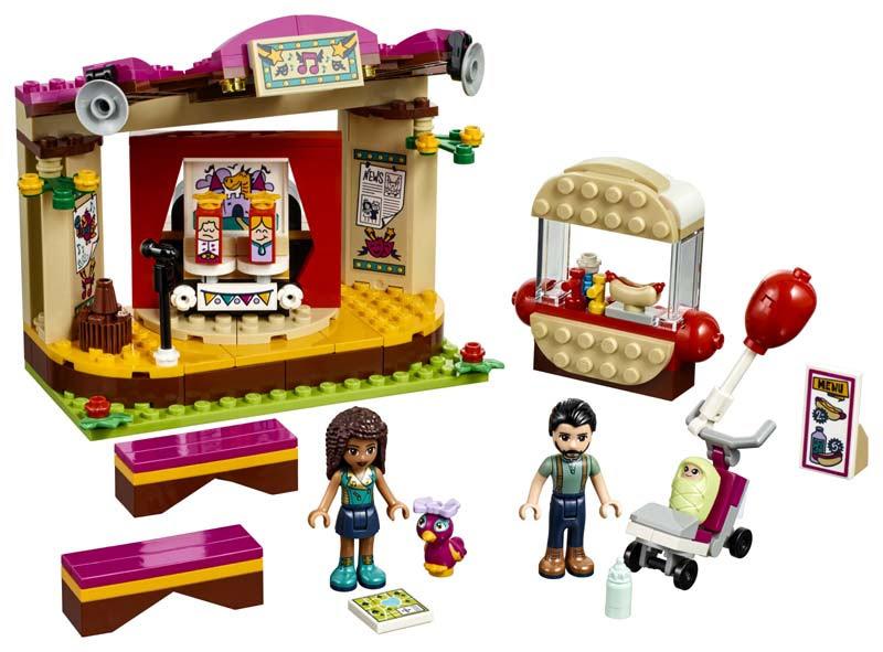 Contenido de Lego® 41334 Actuación en el Parque de Andrea