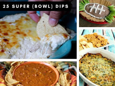 25 Super (Bowl) Dips