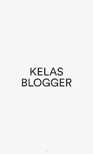 Kelas Blogger - náhled