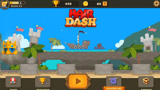 Hair Dash screenshot 7