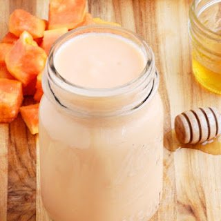 Fat Burning Papaya and Banana Smoothie