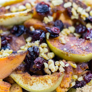 Cranberry Apple Yam Bake Recipe