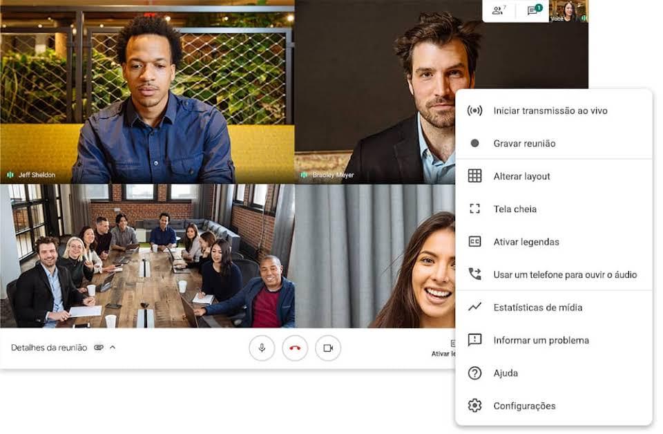 O que é o Google Meet