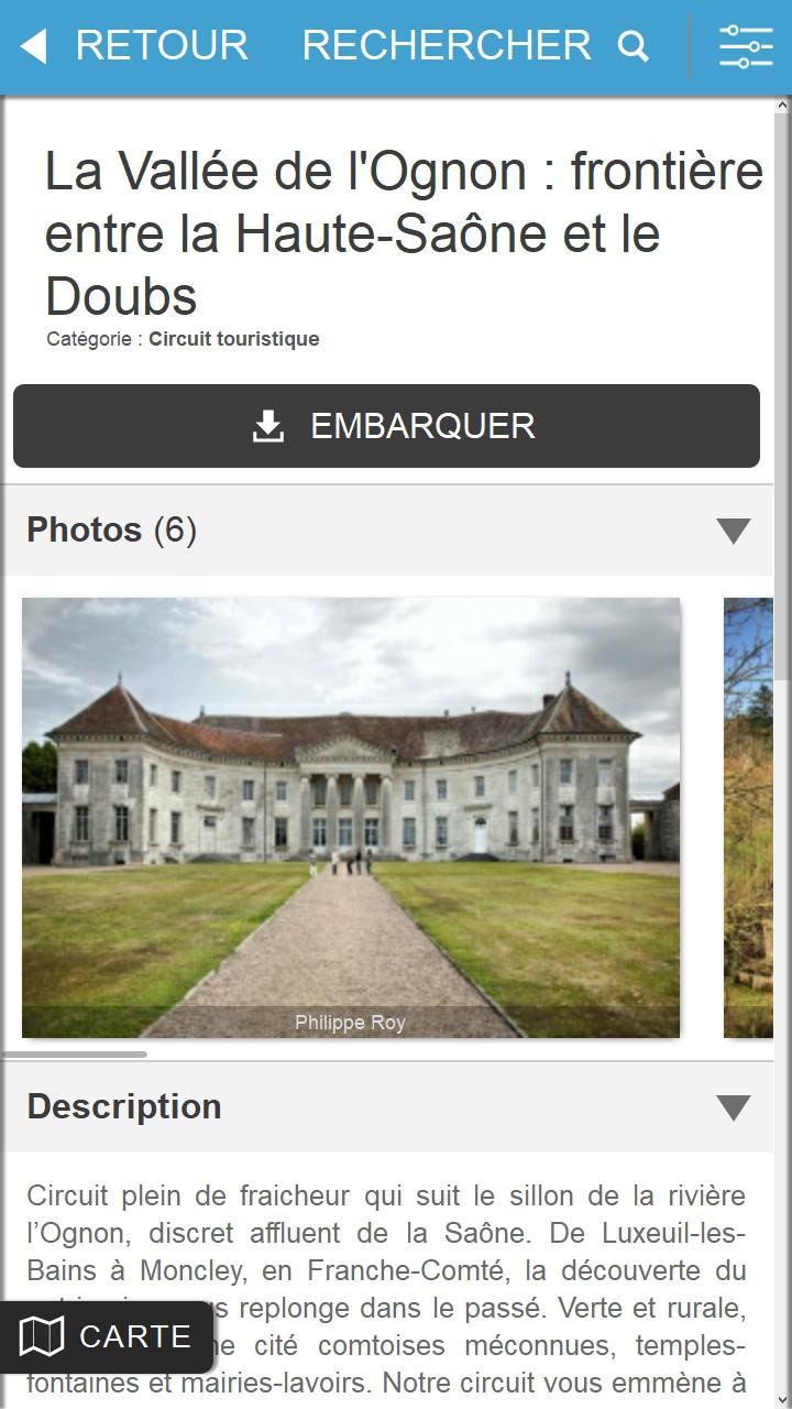 Скриншот Détours en France ITINERAIRES