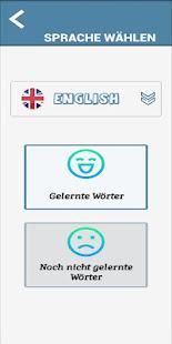 Download Englisch lernen Vokabeln - Kostenlose App For PC Windows and Mac apk screenshot 4