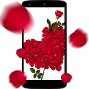 Rose petals 3D Live Wallpaper